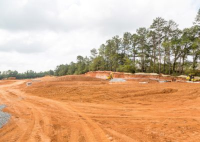 Earth Grading at Residential Construction Site