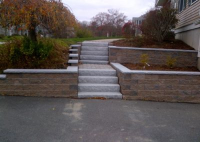 Wall with Steps 1