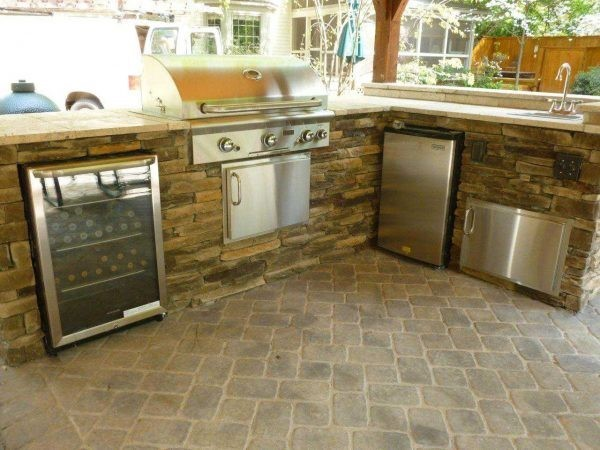 outdoor kitchen appliances may also include a refrigerator dishwasher oven beer kegerator or an ice maker any appliance that you have in your indoor. Interior Design Ideas. Home Design Ideas