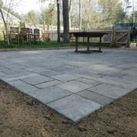 Mashpee Patio Close up